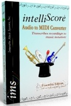 IntelliScore MP3 to MIDI Converter boxshot